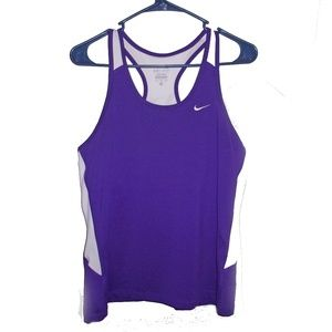Nike Dri-Fit Purple Workout Shirt size XL
